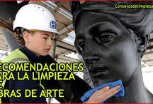RECOMENDACIONES PARA LIMPIAR OBRAS DE ARTE
