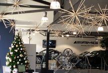 Custom, corporate and events / Custom designed Christmas trees, Christmas decorations and Christmas wreaths