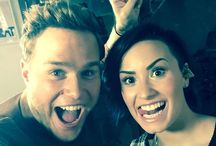 Olly Murs & Demi Lovato UP / Demi and All Stars images