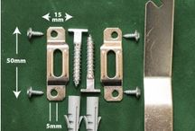 MIRROR FIXINGS / Secure your mirror safely thanks to our heavy duty mirror fixings. The pack of fixings includes screws, brackets and concealed fixings suitable for securing a large wall mirror. Evergrip Extra strong mirror adhesive should also be used where applicable for complete peace of mind.