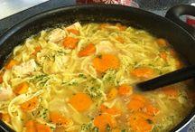 Soup / Chicken noodle soup