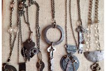 Altered Jewelry / by Debbie Patterson (Laughngypsy.etsy.com)