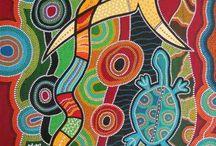 Dessins aborigènes