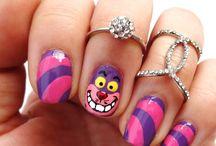 nail art Alice #loulou
