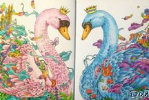 Dulina - Imagimorphia / Kerby Rosanes - Imagimorphia - colouring book