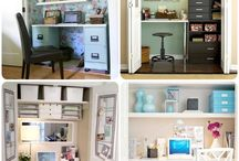 Home Office Ideas / by Leah Lucid