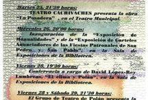 CARTELES JORNADAS CULTURALES / Estos son algunos delos Carteles que hacemos para anunciar las Jornadas Culturales de la Biblioteca.