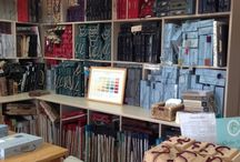 New Cotton Tree Library / Updates from our new Fabric & Wallpaper Library in Saxmundham, Suffolk.