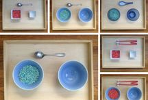 Montessori in the home / Ideas to incorporate at home that support the Montessori Philosophy.