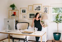 CHIC WORKING SPACES / by Paula Myers