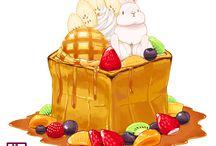 Food bunnies