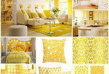 YELLOW Home * Decor