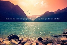 Quotes, sayings and photography :)