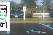Parking Lot Signs / Parking Lot Signs are an easy way to designate parking spaces and areas.