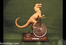 ART SCULPTURE videos by kuriology / These videos are showing sculptures created by Kuriology