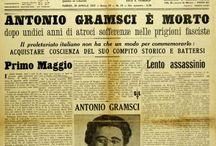 Storia foto doc. / A.Gramsci morto in prigione