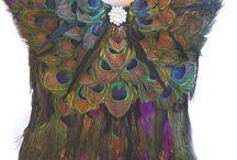 Peacock Wearable / by Fabulous  Cat Woman