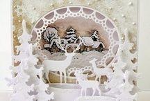 Christmas cards cartes de Noel
