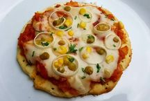 receitas salgadas pizza e outros