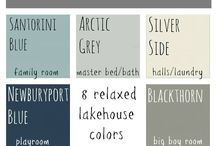 Beach House Colors / Paint colors for interior and exterior.  / by Lynn Speegle