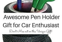 Best Gifts for Car Enthusiasts / gift ideas for car enthusiasts, car enthusiast gifts, car wheel clock, car shift gear cufflinks, care tire coffee mug, car cell phone holder, car trunki organizer, power handle car steering wheel, keychain care escape, hubcap snack bowl, hardwood steering wheel, car mat coasters, great gifts for car lovers, 2016 gift ideas for car enthusiast