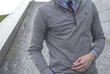 Men's preppy style: Fall outfits men fasion / Preppy me's style outfits. Quilted jacket, trench coat, jeans, loafers shoes and more. The best for fall season.