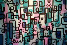 Sináptica- Gudiño / Art by Ismael Gudiño / by Ismael Gudiño