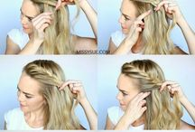 Plat hairstyle