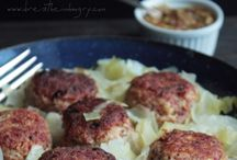 Meatballs and Meatloaf
