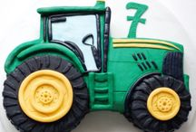 Brummbrumm Geburtstag mit Traktor