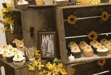 Cupcakes display ideas