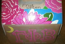 Gamma Phi Cooler  / by Lauren Karaus