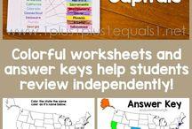 Homeschooling - Geography