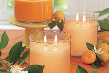 candles by Party Lite