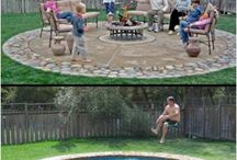 Most Amazing Hidden Water Pools / If one of your biggest dreams is to have a pool in your backyard, then here's a practical idea. Hidden water pools can be a great alternative for regular pools, as you can cover them with a decorative concrete base, this way maximizing the space available and their maintenance also costs less.