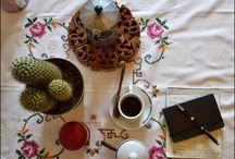 Urban Jungle Bloggers -Coffee and plants