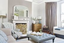Traditional Living Room Inspiration / Traditional living room, living room design, living room trends, styling a traditional living room.