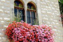 Балконы и окна оформление