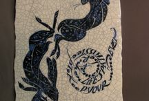 Art & Poetry / Poetry Tiles, and the Art of Poetry at Obsidian Art