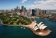 Sydney, un reve de gosse / On ne peut pas rever mieux que cette magnifique destination . Son opera splendide et ses couleurs magiques nous font rever comme des enfants