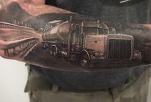 Tetování truck