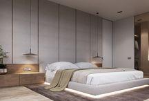 Quarto - painéis cama