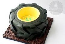 Tyre cake