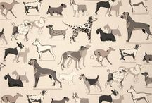Dog Prints / Dog prints and illustrations