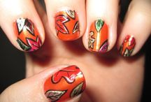 Thanksgiving nails / by Wendy Mirabella