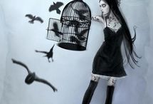 Goth / All that is creepy and kooky, my kinda thing :)