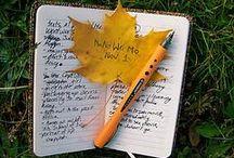 Writing / psaní, poznámky