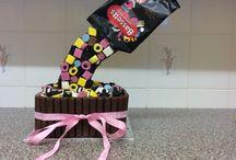 Liquorice Allsorts Giant Cupcake