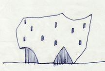 Sketches / sketches, skici, architecture, draw