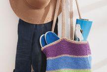 Tricot - Sac / Ce tableau contient des idées de projets de tricot | Sac fourre-tout | Sac à main | Sac
